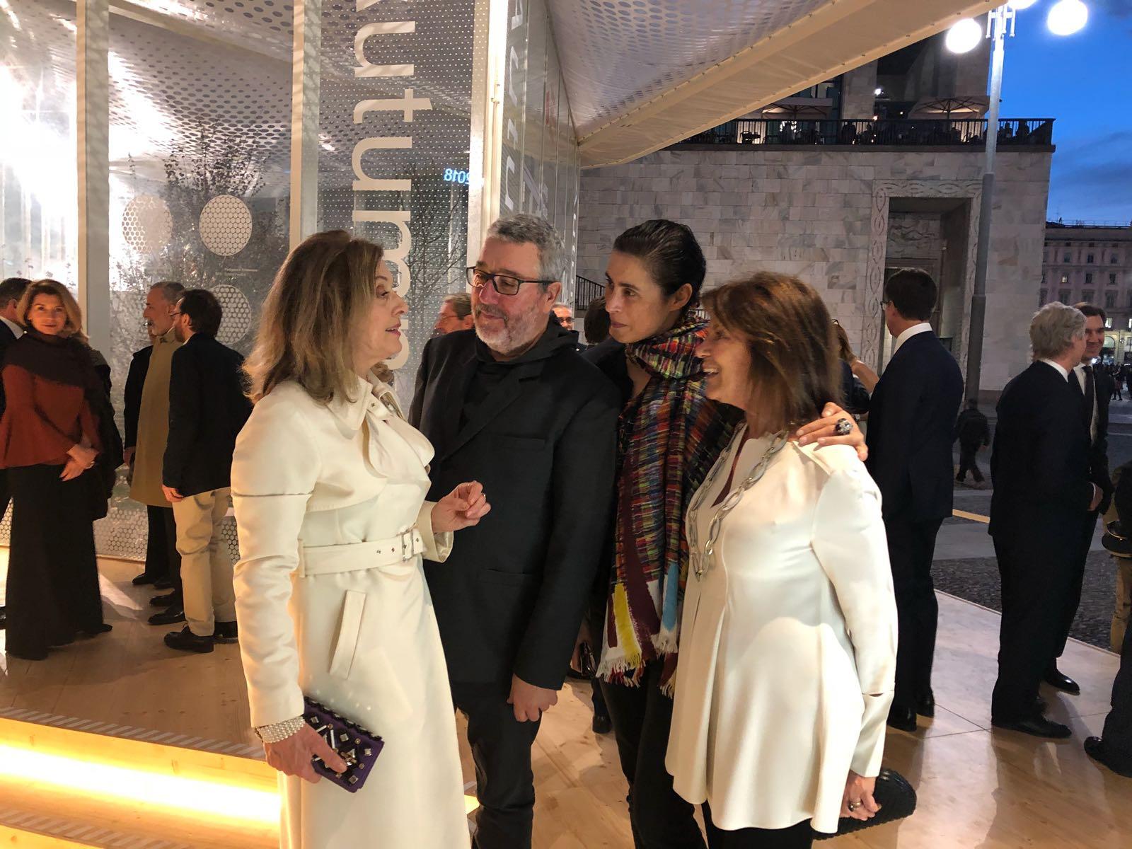 con Philip Starck e Maria Luti: design, visione, futuro