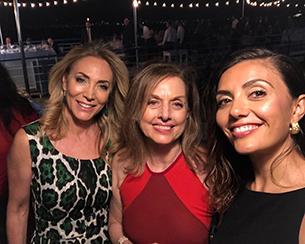 Con Serena Rossi e Chiara del Gaudio