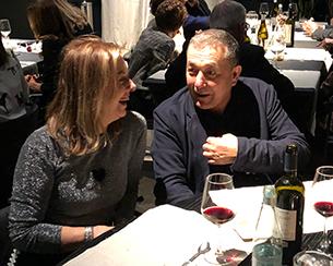 Con Vicente Todoli geniale curator di Hangar Bicocca