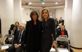 con Cristina Piga