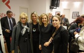 con Ginevra Carrassi, Antonella Romiti, Elisabetta Marini